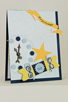 see you at midnight card by erin lincoln for papertrey ink november 2012 party party poppersnew year