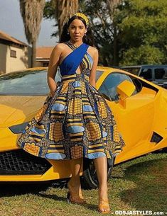 Chic Ankara dress styles can be worn to different occasion and you won't feel out of place. In fact chic Ankara dress styles coordinated with complementing accessories have a way of enhancing your overall look. South African Fashion, African Fashion Ankara, African Inspired Fashion, Latest African Fashion Dresses, African Print Fashion, Africa Fashion, South African Clothing, Ghana Fashion, Fashion Hub