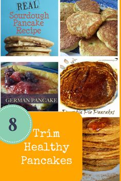 8 Trim Healthy Pancakes - Grassfed Mama   low carb, sugar free, trim healthy mama, weight loss, diet, coconut flour