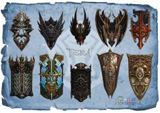 Lancer shields pack2. All shields got the same numbers like lances - so You wont be having a problem with finding right one,and making Your lancer good equipmend :3! (c)Bluehole. DOWNLOAD onedrive....