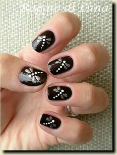 black nail art designs for 2016 - Diy Nail Designs Get Nails, Fancy Nails, Pretty Nails, Hair And Nails, Black Nail Art, Black Nails, Nail Art Designs 2016, Manicure E Pedicure, Pedicure Designs