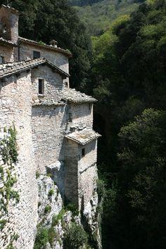Eremo delle Carceri - Assisi, la Basilica di San Francesco e altri siti Francescani - dal 2000 Patrimonio dell'Umanità