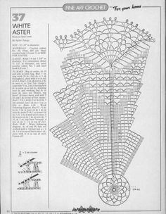 Magic Crochet Nº 47 - Edivana - Picasa Web Albums Crochet Doily Diagram, Crochet Chart, Thread Crochet, Filet Crochet, Crochet Motif, Irish Crochet, Crochet Designs, Crochet Doilies, Crochet Flowers