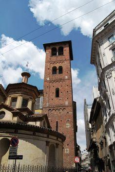 Milano, sacello e campanile (IX sec. Milan, Santa Maria, San Francisco Ferry, History, World, Building, Colorado, Travel, Beautiful
