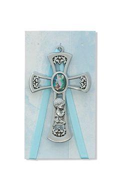 """3 1/2"""" Boys Baby Blue Cross Crib Medal, Guardian Angel, S... https://www.amazon.com/dp/B005RS5L7C/ref=cm_sw_r_pi_dp_x_oWYmyb2AMXZ7T"""