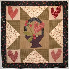 Jan Patek Quilts: February 2011 Wool Applique Patterns, Applique Quilts, Quilt Patterns, Primitive Quilts, Quilt Studio, Small Quilts, Mini Quilts, Baby Quilts, Quilting Projects