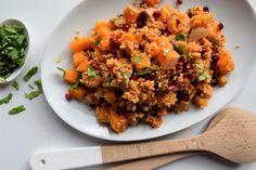 Gierst salade met pompoen & granatappel | Jouw Fabriek
