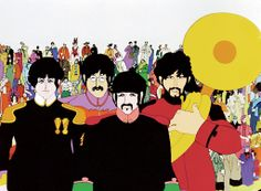 Abril - Yellow Submarine - George Dunning/ Dennis Abey