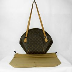 Sac à bandoulière Louis Vuitton Ellipse Shopping GM Authentique d occasion  en toile monogram b55bc6d7c03