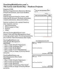 Worksheet Student Worksheet To Accompany The Lorax definitions activities and fonts on pinterest teachingmadeeasier com the lorax earth day activity tip seven student projects based on