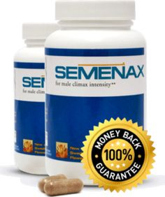 Semenax™ makes larger volumes of fluid and sperm available for each orgasm, which in turn means more contractions to release it all -- with stronger, more pleasurable orgasms.
