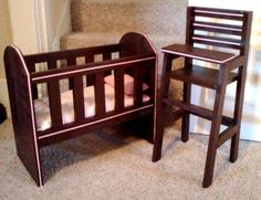 Elli's Doll Furniture | Do It Yourself Home Projects from Ana White