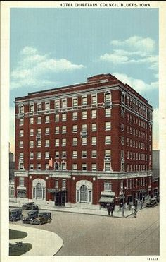 Hotel Chieftan - Council Bluffs, IA. | Flickr - Photo Sharing! Council Bluffs Iowa, Historical Pictures, Back In The Day, Old Pictures, Vintage Photos, Memories, Places, Hotels, Collections