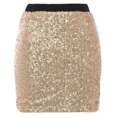 Cutie Gold sequined skirt- at Debenhams Mobile. NYE outfit idea!