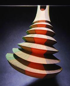 Miyake Design Studio   Tokyo, Japan   Minaret dress 1995   Image courtesy Powerhouse Museum.