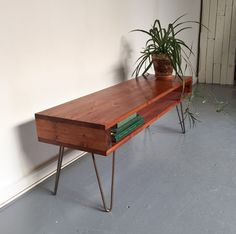 Oldfield High Mid Century Style Coffee Table/ TV by DerelictDesign
