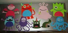 Nifty Thrifty & Thriving: Monster Cutouts
