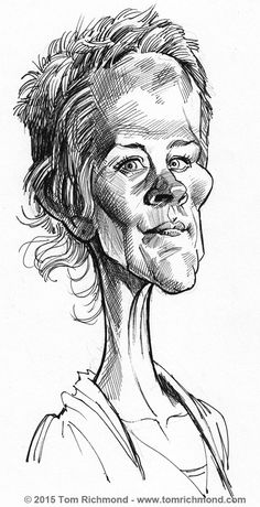 Melissa McBride © 2015 Tom Richmond