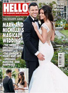Michelle Keegan's wedding dress