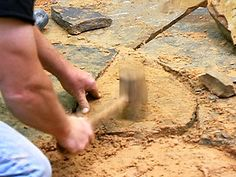 How to Install a Flagstone Patio : How-To : DIY Network