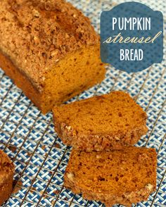 YUMMY Pumpkin Streusel Bread Recipe #pumpkin #bread