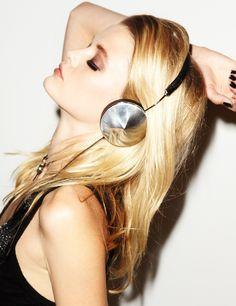 #Black #Leather Taylor #Headphones   #Frends   #Avenue32 £160