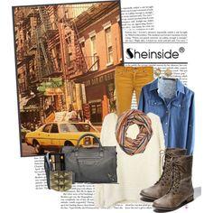 """""""Sheinside: urban"""" by channchann on Polyvore"""