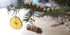 Décoration naturelle sapin de Noël