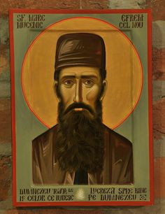 St. Ephraim of Nea Makri or St. Ephraim of Mount Amomon (by Bogdan Rednic) +++ Sf. Efrem cel  Nou
