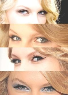 so whoever does her eye makeup needs to come do mine!!