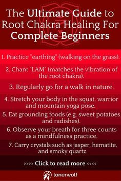 The root chakra is one of the most blocked energy fields within our bodies. Recover your inner balance in this root chakra healing guide!