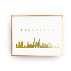 Odkryj ręcznie złocone plakaty -> zloteplakaty.pl Poster, Plakat, Print, Real Gold Foil Print, Office Decor, Illustration Art Print, Office Art, Polish Art