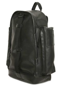 Givenchy Large Pockets Black Leather Backpack « UpscaleHype