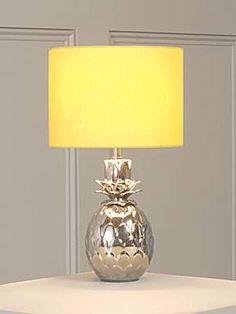 Linea Pineapple table lamp - House of Fraser