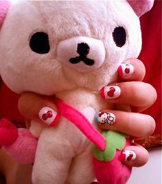 Too many hello kitty nails -. Hello Kitty Nails, Cat Nails, Snoopy, My Style, Character, Lettering