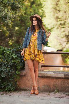 TIE BOW-TIE: SUNNY DRESS