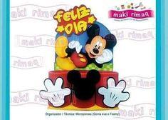 Eu Amo Artesanato: Porta treco do Mickey com molde Makati, Mickey Mouse, Disney Characters, Fictional Characters, Fabric Dolls, Crochet Stitches, Step By Step, Manualidades, Amigurumi