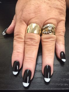 Black and White Nails | Nails by Bex
