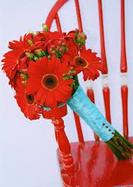 flowers for tiffany blue and grey wedding - Google Search