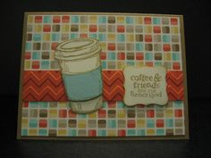 Retro Fresh Coffee by Luv2Run - Cards and Paper Crafts at Splitcoaststampers