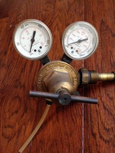 VICTOR VTS250A REGULATOR WELDING Steampunk Gauges  | eBay