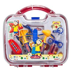 Caillou 10-Piece Medical Kit.  My daughter loves this toy.