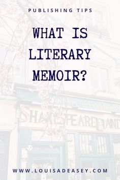 If you're wanting to sell your memoir to a #publisher or #agent, you will need to know where it sits in the marketplace. In layman's terms, you need to be able to compare it to other stories which have been published in the genre.reading good memoirs is going to help you when you write your book proposal, and it's also going to help you as you hit roadblocks in the writing of your memoir. #bibliophile #nonfiction #querytip #authoradvice #autobiographicalwriting Diary Writing, Memoir Writing, Journal Writing Prompts, Writing Quotes, Blog Writing, Creative Writing, Writing A Book, Writing Tips, Author Quotes