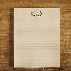 8.5x11in Notepad - Trevor