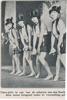 Berlin, Cabaret Kdamm 1927.