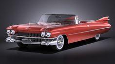 Cadillac Eldorado 1959 Convertible VRAY 3D Model .max .c4d .obj .3ds .fbx .lwo .stl @3DExport.com by SQUIR
