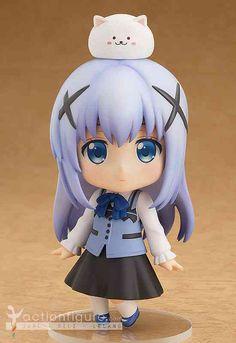 Pre order Nendoroid Chino dari anime Gochumon wa Usagi Desu ka original Good Smile Company pesan sekarang di jactionfigure.com