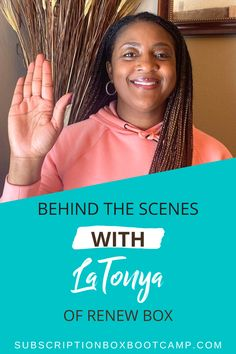 In this episode, Julie chats with one of her students from Subscription Box Bootcamp, LaTonya Williams of Renew Box. LaTonya tells us all about her box and her experience in launching it. Start a sub box, How to start a subscription box, Start a subscription box, Complete Business Plan, Business Ideas, How to Make Money, Entrepreneur Inspiration, Business Launch Ideas, Business Interviews, Trendy Business Ideas! #planning #subscriptionbox #interview #trendybusiness #subboxideas