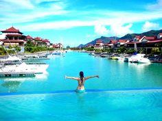 Eden island Seychelles