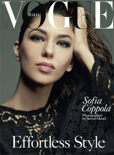 Vogue Italia, February 2014. Sofia Coppola photographed by Steven Meisel.
